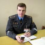 Начальник Поставского РОВД А. М. Гарус: о себе, о работе, о людях