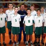 Юные поставские волейболисты — чемпионы области