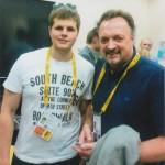 Пастаўчанін Раман Яцкевіч вызначыўся як валанцёр