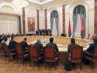 На встрече с министрами иностранных дел и главами национальных делегаций стран - членов ЦЕИ