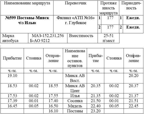 Поставы-Минск 16-10